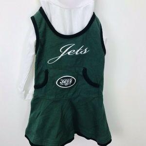 NFL Team Apparel New York Jet Dress infant